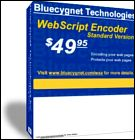 Webscript Encoder not only facilitates quickly encoding your web pages but also protect your HTML code against being acquired when people are viewing the source.